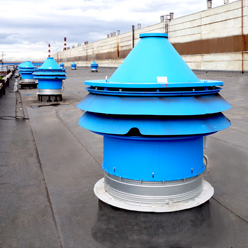 Start of production of roof smoke exhaust fans